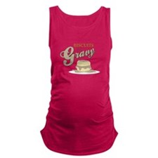 Biscuits & Gravy Maternity Tank Top