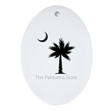 Palmetto State Ornament (Oval)