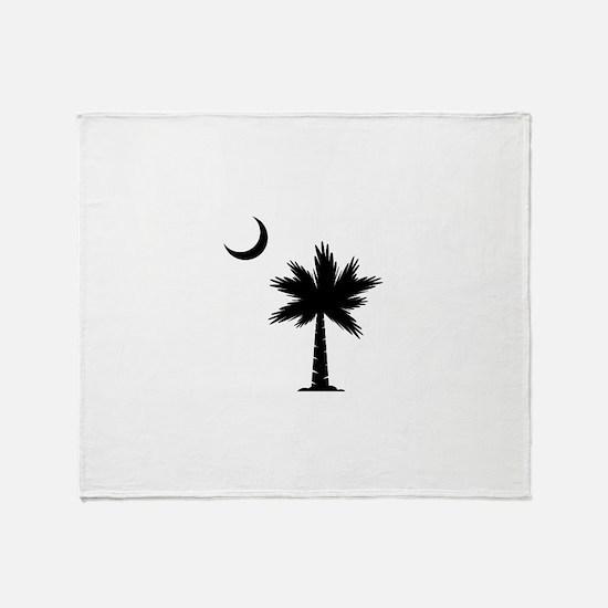 Palmetto Moon Throw Blanket