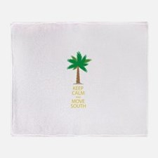Move South Throw Blanket