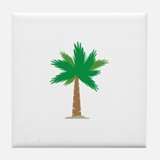 Palm Tree Tile Coaster