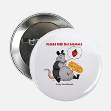"Cute Possums 2.25"" Button"