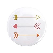 "Cupids Arrows 3.5"" Button"