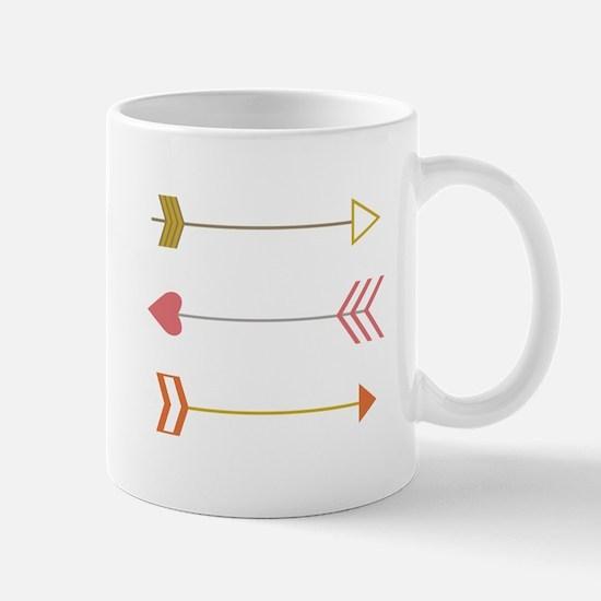 Cupids Arrows Mugs