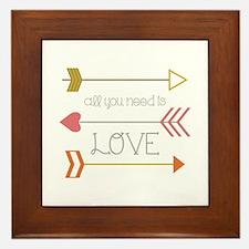 All You Need Framed Tile