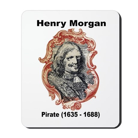 Henry Morgan Pirate Mousepad