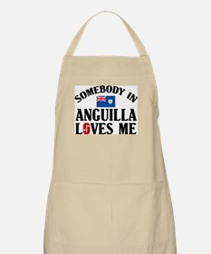 Somebody In Anguilla BBQ Apron