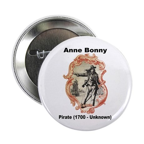 "Anne Bonny Pirate 2.25"" Button (10 pack)"