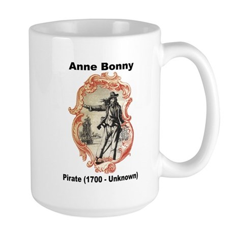 Anne Bonny Pirate Large Mug
