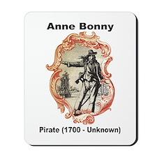 Anne Bonny Pirate Mousepad