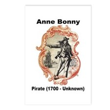 Anne Bonny Pirate Postcards (Package of 8)