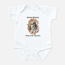 Anne Bonny Pirate Infant Bodysuit