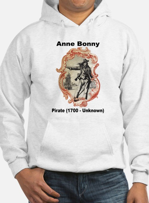 Anne Bonny Pirate (Front) Hoodie