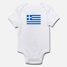 greece flag Infant Bodysuit