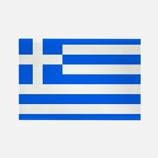 greece flag Rectangle Magnet (100 pack)