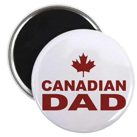 """Canadian Dad Father's Day 2.25"""" Magnet (100 pack)"""