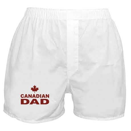Canadian Dad Father's Day Boxer Shorts