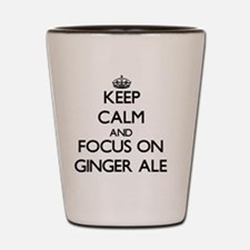 Unique Keep calm and ginger on Shot Glass