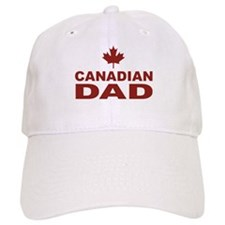 Canadian Dad Father's Day Baseball Cap