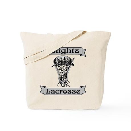 Lacrosse Knights Tote Bag