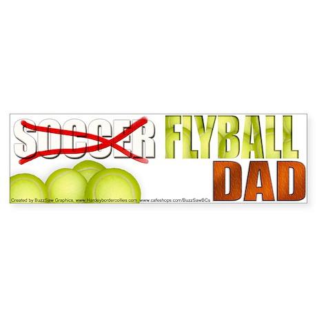 Flyball Dad's Bumper Sticker