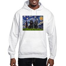 Starry Night & Schipperke Hoodie
