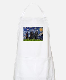Starry Night & Schipperke Apron