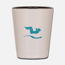 Unique Back logo Shot Glass