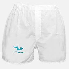 Unique Back logo Boxer Shorts