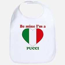 Pucci, Valentine's Day Bib