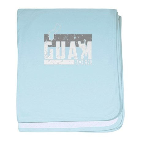 Cool T Shirt Guam Shirt Guitar Shirt baby blanket