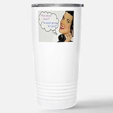 Funny Gross joke Travel Mug