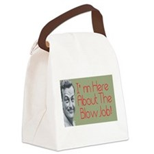 Funny Blowjob Canvas Lunch Bag