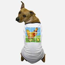 Free-Range Chicken Dog T-Shirt