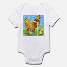 Free-Range Chicken Infant Bodysuit