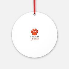 Tiger Pride Ornament (Round)
