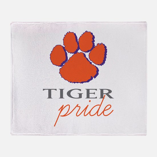 Tiger Pride Throw Blanket