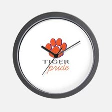 Tiger Pride Wall Clock