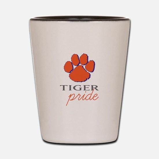 Tiger Pride Shot Glass