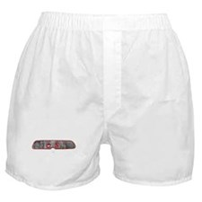 Gauged Boxer Shorts