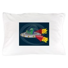 UFO Alien Pillow Case