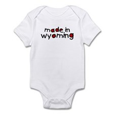 Cute Made in wyoming Infant Bodysuit