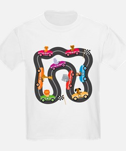 Race Day Racing Cars T-Shirt