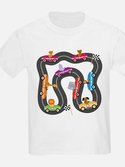 Race Day Racing Cars T-Shirt