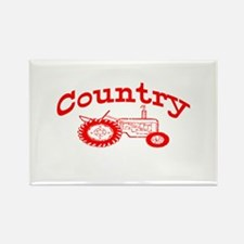 Country Rectangle Magnet