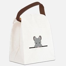Pocket Mouse Canvas Lunch Bag
