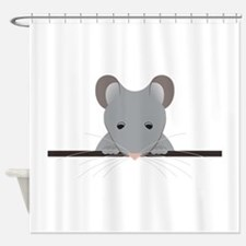 Pocket Mouse Shower Curtain