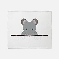 Pocket Mouse Throw Blanket