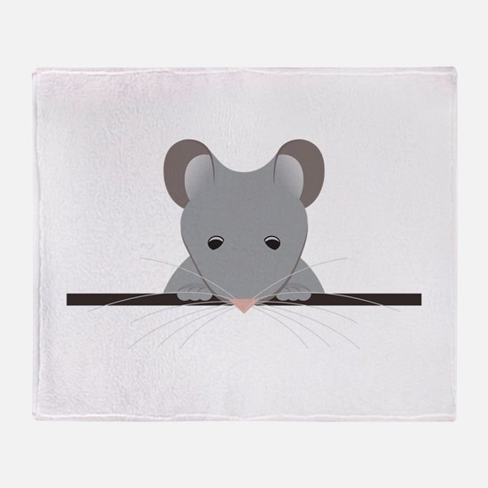 Pocket Mouse Throw Blanket