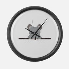 Pocket Mouse Large Wall Clock